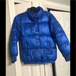 Justice Puffer Winter Jacket